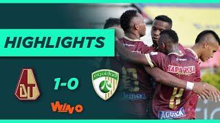 Tolima vs La Equidad (Goles y Highlights) Liga BetPlay Dimayor 2021   Fecha 3