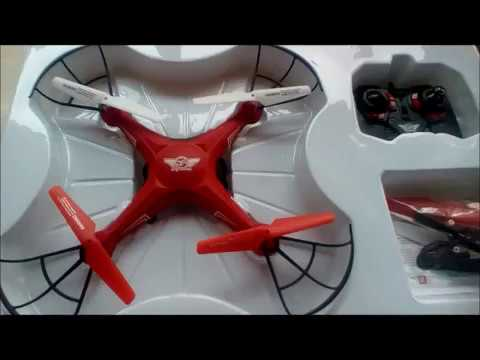 Sky Rider Falcon Pro Quadcopter RC DRONE 1st FLIGHT THOUGHTS  UNBOXING REVIEW