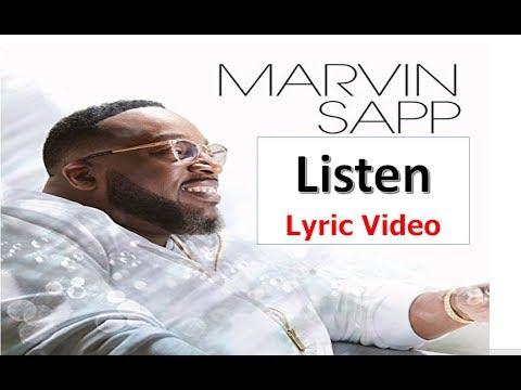Marvin Sapp - Listen (Lyrics)