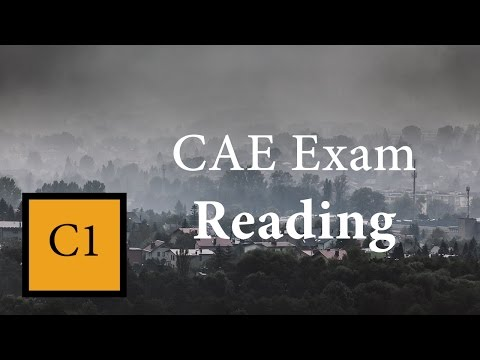Reading for CAE
