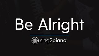 Be Alright (Piano Karaoke Instrumental) Dean Lewis