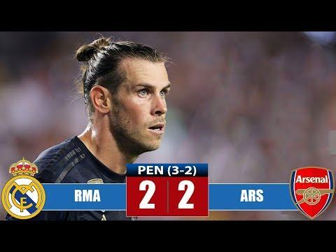 Rеаl Маdrid vs Arѕеnаl 2-2 (Pen 3-2) Highlights & Goals | Resumen y Goles (23/07/2019)