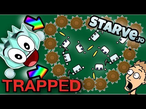 """""""HILARIOUS"""" TROLLING/TRAPPING IN STARVE.IO"""