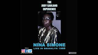 NINA SIMONE live in Brooklyn 1985 The Other Woman & Just In Time