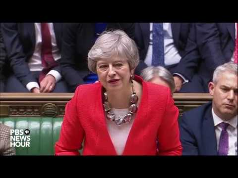 WATCH: UK Parliament votes down Theresa May's Brexit deal