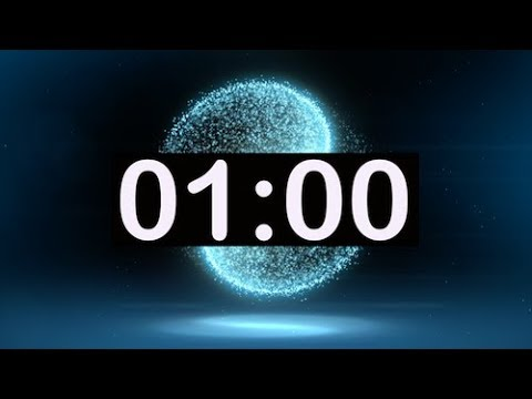 1 minute Count Down circular timer green screen FREE from YouTube · Duration:  2 minutes 10 seconds