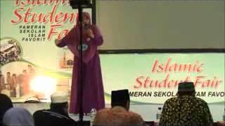 Juara 1 Lomba Pidato Bahasa Arab - Ashri Hani P.
