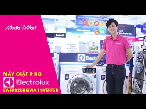 Máy giặt 9 Kg Electrolux EWF9025BQWA Inverter – Dòng máy giặt chăm sóc tối ưu