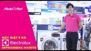 Máy giặt 9 Kg Electrolux EWF9025BQWA Inverter - Dòng máy giặt chăm sóc tối ưu