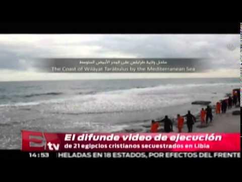 Decapitan a 21 egipcios cristianos secuestrados en Libia / Titulares de la tarde