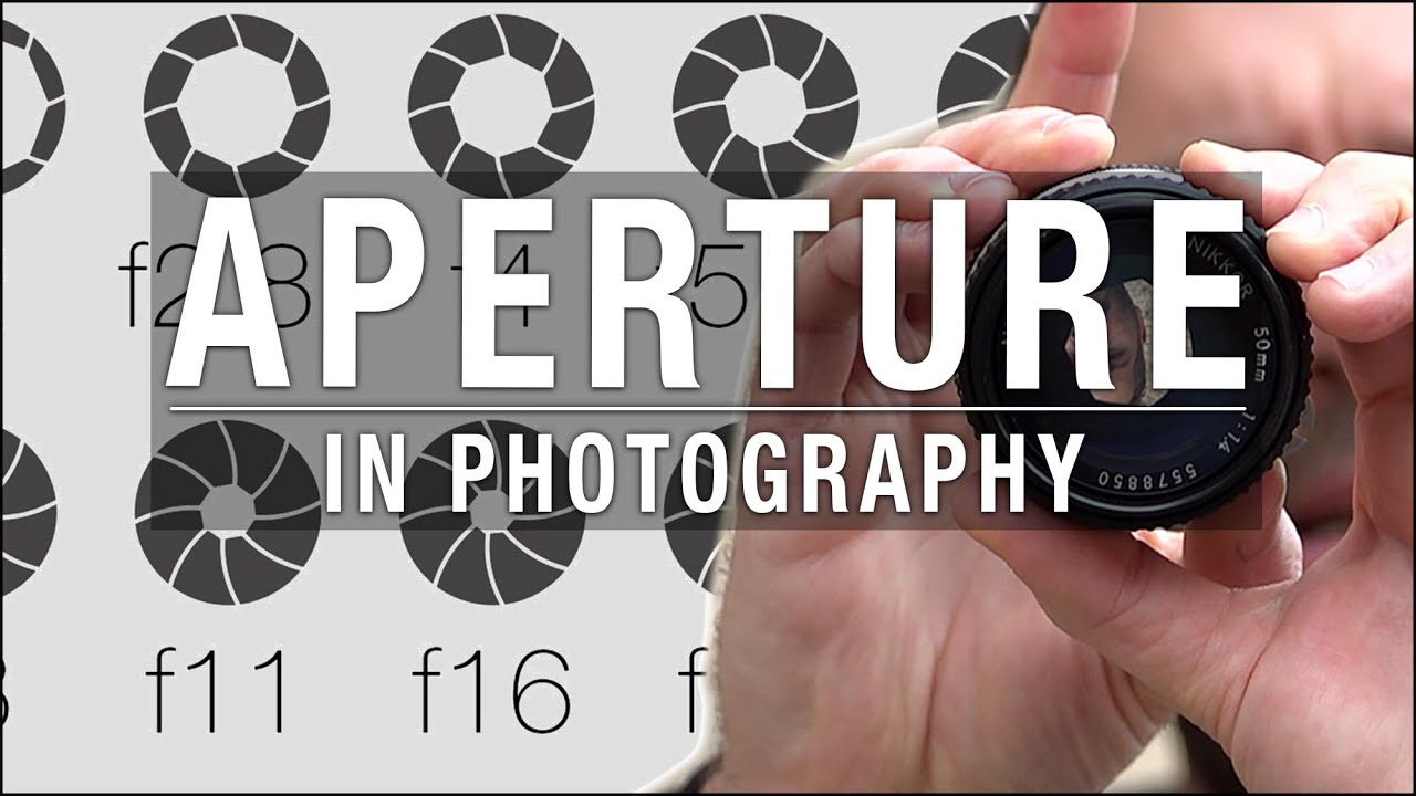 Aperture, f-numbers and depth of field
