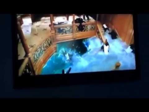 Titanic grand staircase floods