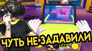 Job Simulator #5 (HTC Vive VR)   Чуть не задавили   упоротые игры HD
