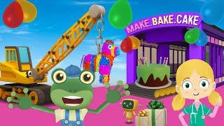 Gecko 's SURPRISE Birthday Party | LKW-Cartoons Für Kinder | Gecko' s Garage