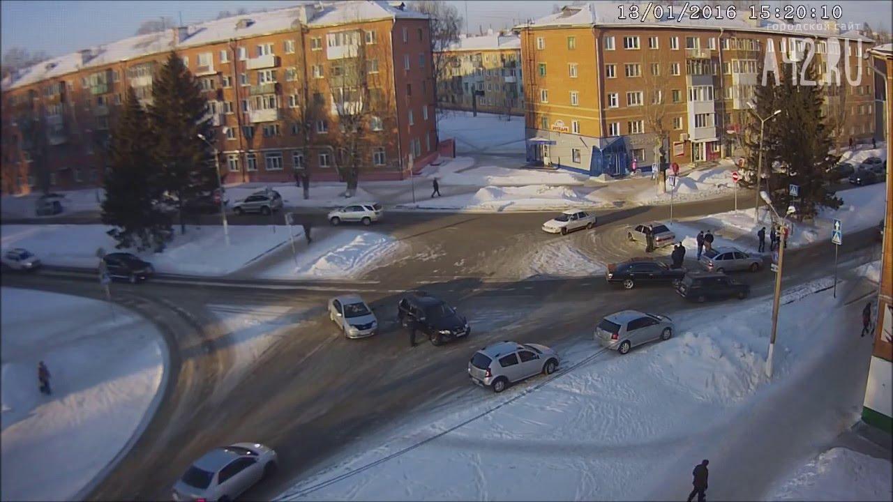 Аварии ДТП проишествия в Кузбассе город Юрга