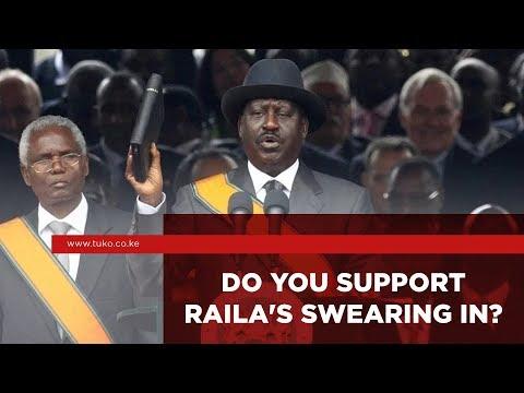 Do You Support Raila's Swearing In? | Kenya #VOXPOP