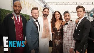 """""""Queer Eye"""" Guys Had the Best Time at the 2018 Emmys   E! News"""