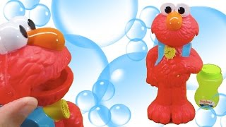 Blowing Bubbles with ELMO