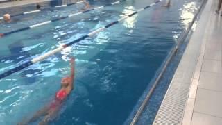 Маше 7 лет плавание