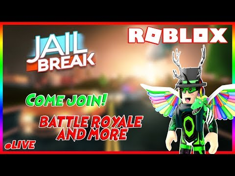 🔴 Roblox Jailbreak With fans, Battle royale and more Come join! 🔴