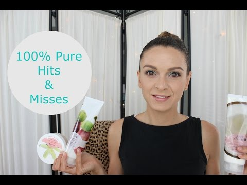 100% Pure Cosmetics Hits And Misses