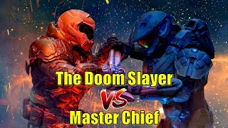 Master Chief Vs The Doom Slayer | Prepping for Doom Eternal | Ultimate Match up between Heroes!