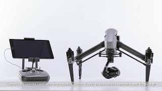 DJI Inspire 2 - Linking the Remote Controller