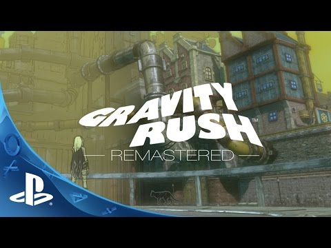 Gravity Rush Remastered - Announce Trailer | PS4