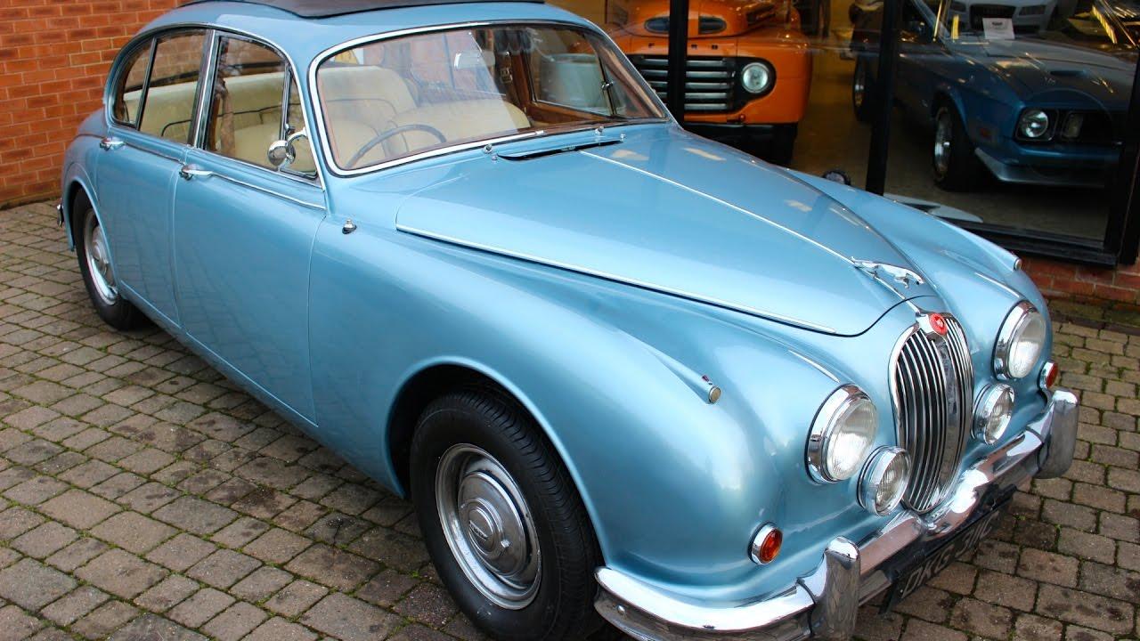 1965 Jaguar MK II 3.4 - Preview - YouTube