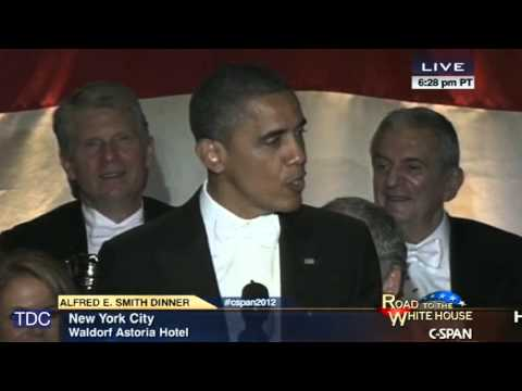 President Obama's Complete Remarks From The Al Smith Dinner (2012)