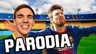 Fran MG Parodia 2018 (Todas las canciones Remix - Parodias de Fútbol)