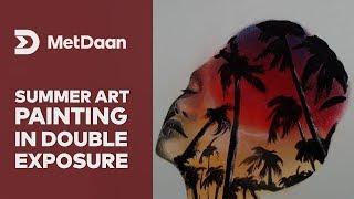 Summer art painting  | MET DAAN