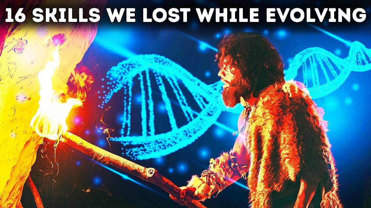 We Evolved Smarter but Lost Superpowers along the Way