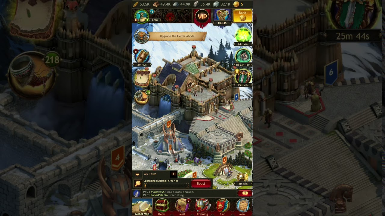 Vikings - How To Reach Palace Level 12