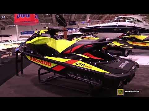 2015 Sea Doo GTR 215 Jet Ski Walkaround 2015 Toronto Boat Show