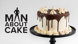 Cake Decorating for Beginners  How to Fill, Ice and Crumb Coat a Cake