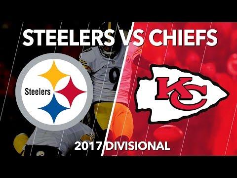 Steelers Beat Chiefs 2017 NFL Playoffs