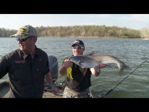 Weekend Warrior Blue Catfish on Grand Lake G3 Sportsman 200