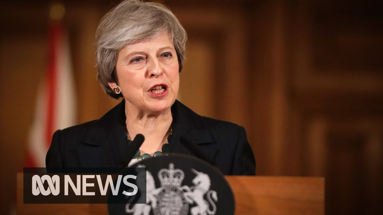Theresa May fighting for Brexit and her political future   ABC News