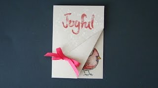 Joyful Season Cardinal Note Card