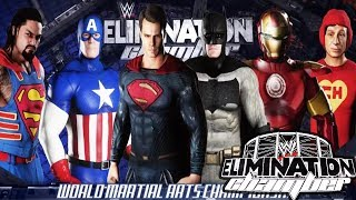 Super Heroes - WWE Chamber Elimination 2018