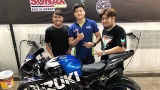Tiệm rửa Xe Team Wash368 của Blackbi ( Thái Vũ ) và Trường giang
