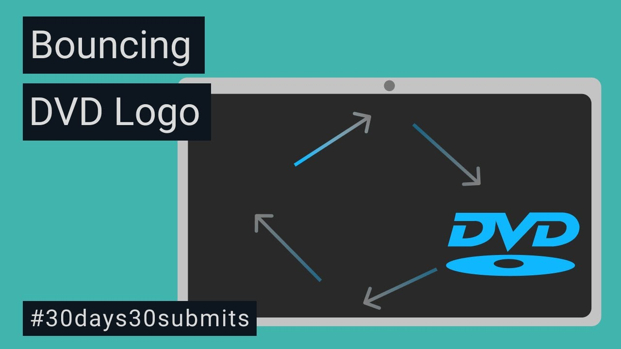 Bouncing DVD Logo With Vanilla JavaScript For Beginners