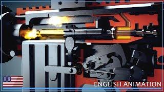 M16 y AR-15 - ¿Cómo armas de fuego trabajar! (Animación)