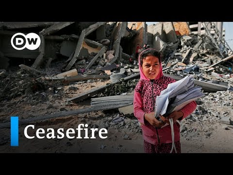 Gaza border conflict: Israel and Hamas agree to ceasefire | DW News
