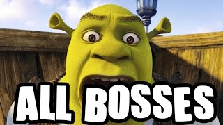 Shrek The Third All Bosses | Final Boss (PS2, Wii, Gamecube, X360)