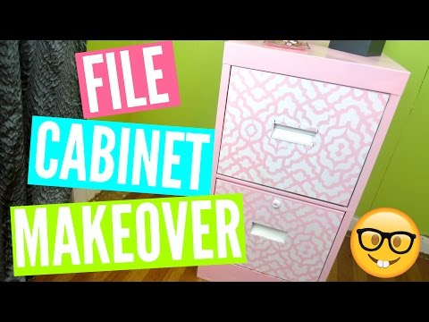 EASY DIY FILE CABINET MAKEOVER