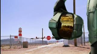 Master chief invades Area 51!!!!