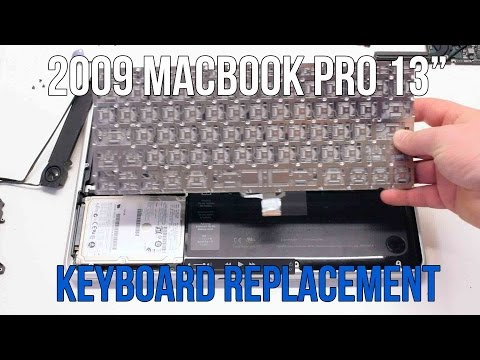 "2009 Macbook Pro 13"" A1278 Keyboard Replacement"