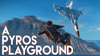 Just Cause 3 Multiplayer: A Pyromaniacs Playground